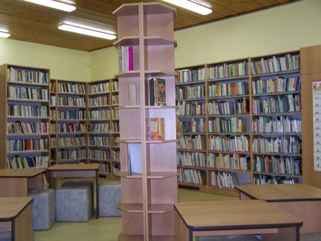 nová knihovna v Podlesí 2010