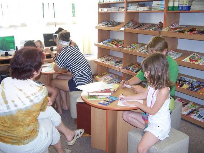 Prázdninová knihovna 2011
