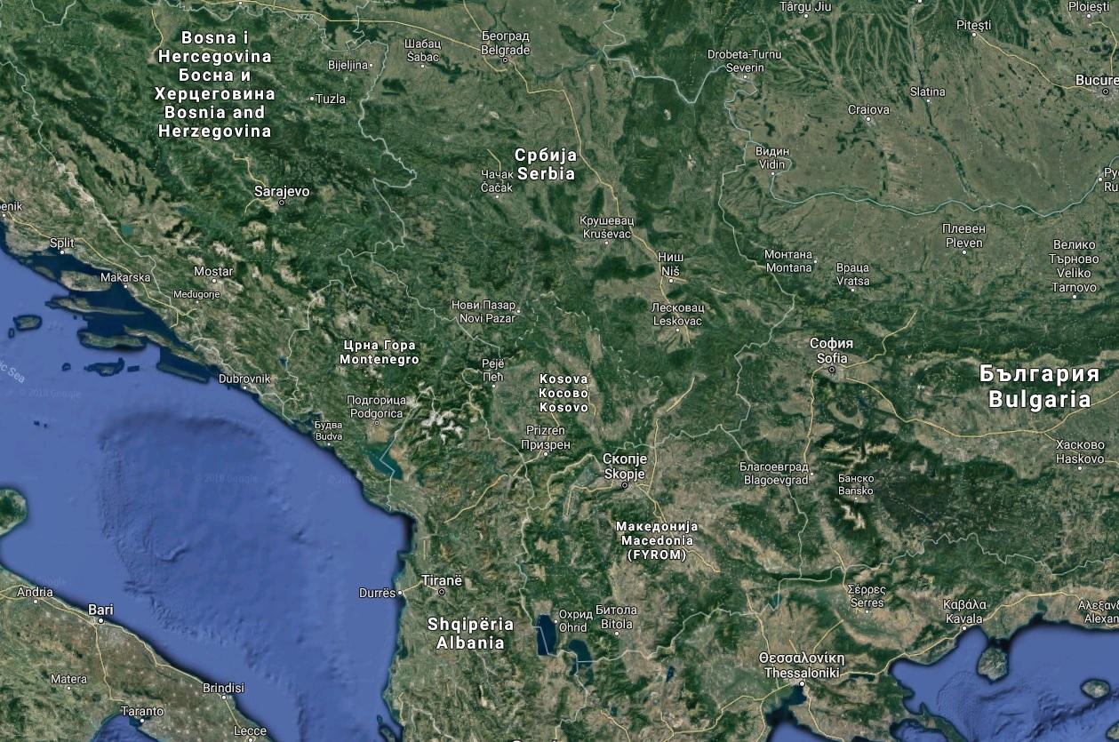 Krásy Balkánu