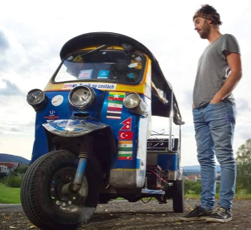 Tuktukem z Thajska na Moravu